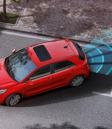 Паркувальні датчики задні к-кт (4 шт.)