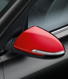 Накладки на бічні дзеркала заднього огляду (червоний)
